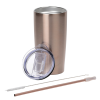 View Extra Image 1 of 3 of Yowie Vacuum Tumbler with Park Avenue Straw Set - 18 oz.