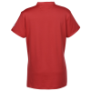 View Extra Image 1 of 2 of Under Armour Corporate Performance Mock Collar Polo - Ladies' - Full Color