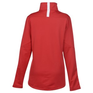 Under Armour Qualifier 1/4-Zip Pullover - Ladies' - Embroidered Image 1 of 2