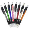View Extra Image 2 of 3 of React Stylus Grip Pen - Metallic