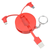 View Extra Image 2 of 5 of Lunar Charging Cable Keychain