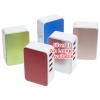 View Image 4 of 4 of 4 Port USB Folding Wall Charger - Metallic