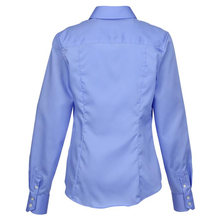 999c5cbb114 4imprint.com  Calvin Klein Non Iron Micro Pincord Shirt - Ladies  134779-L