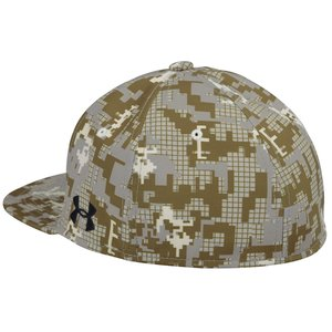 Under Armour Flat Bill Cap - Digital Camo - Full Color Image 1 of 1