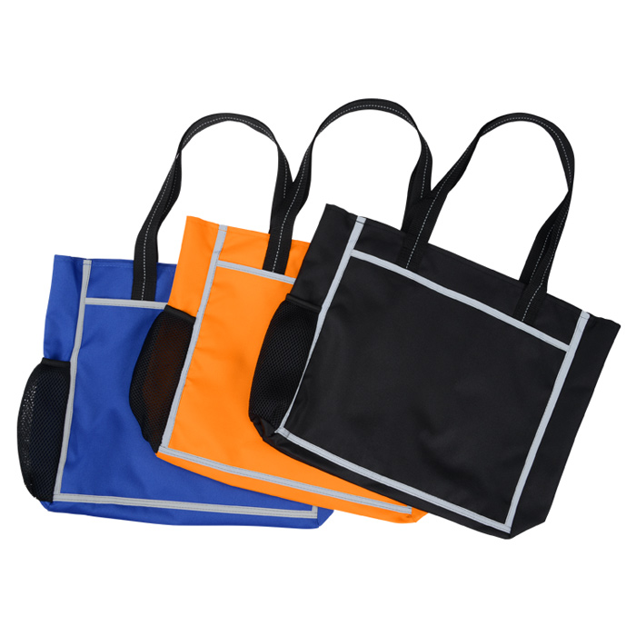4imprint Com Reflective Frame Tote 137296 Imprinted With