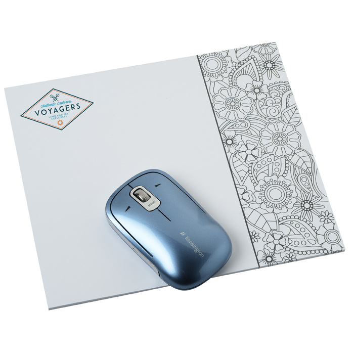 bic color in paper mouse pad floral hr item no fl loading zoom