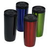 View Extra Image 1 of 2 of Custom Accent Stainless Travel Mug - 16 oz. - Colors - Laser Engraved