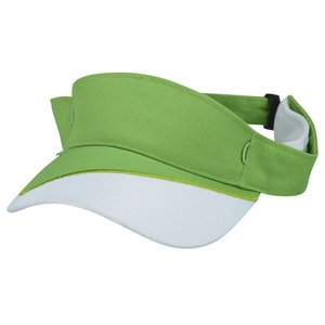 Fairway Wicking Golf Visor with Tee Holder Image 1 of 2