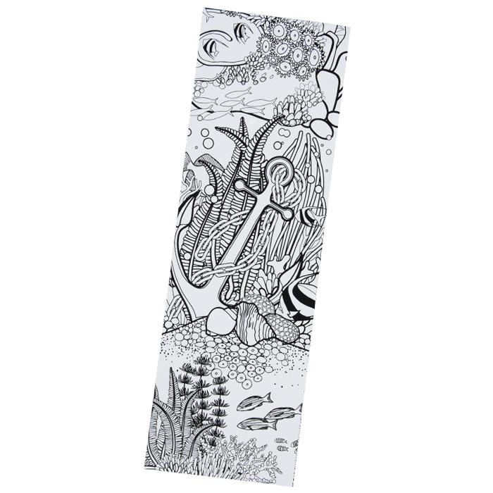 4imprint.com: Coloring Bookmark - Oceans 138408-OC
