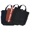 """View Extra Image 3 of 4 of Tranzip Tall 15"""" Laptop Tote - Embroidered"""