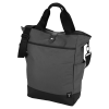 """View Extra Image 4 of 4 of Tranzip Tall 15"""" Laptop Tote - Embroidered"""