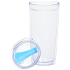 View Image 3 of 4 of Clearly Acrylic Travel Tumbler - 20 oz.