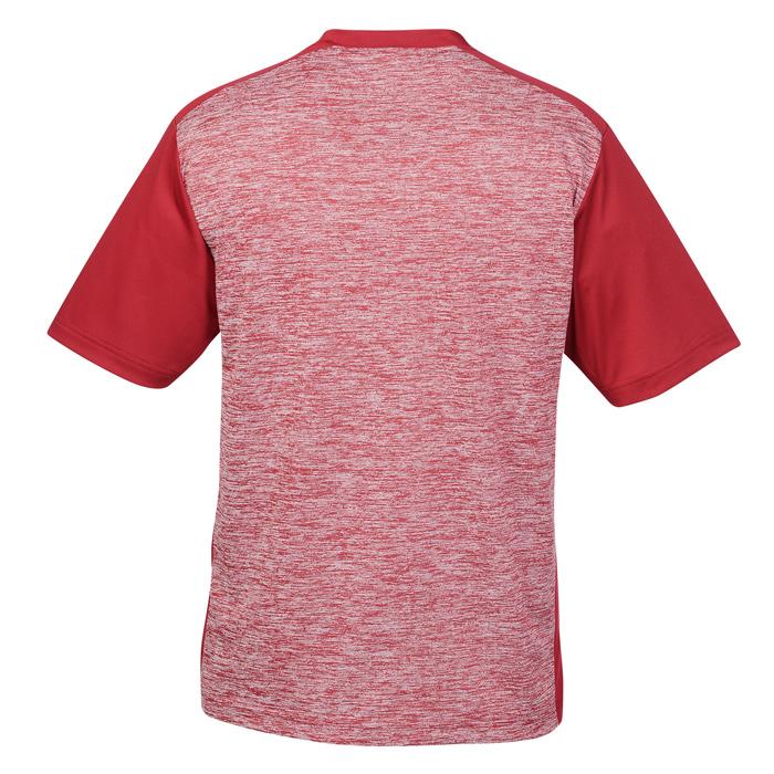 e06eb8bb 4imprint.com: Voltage Heather Colorblock T-Shirt - Men's - Screen  139369-M-CB-S