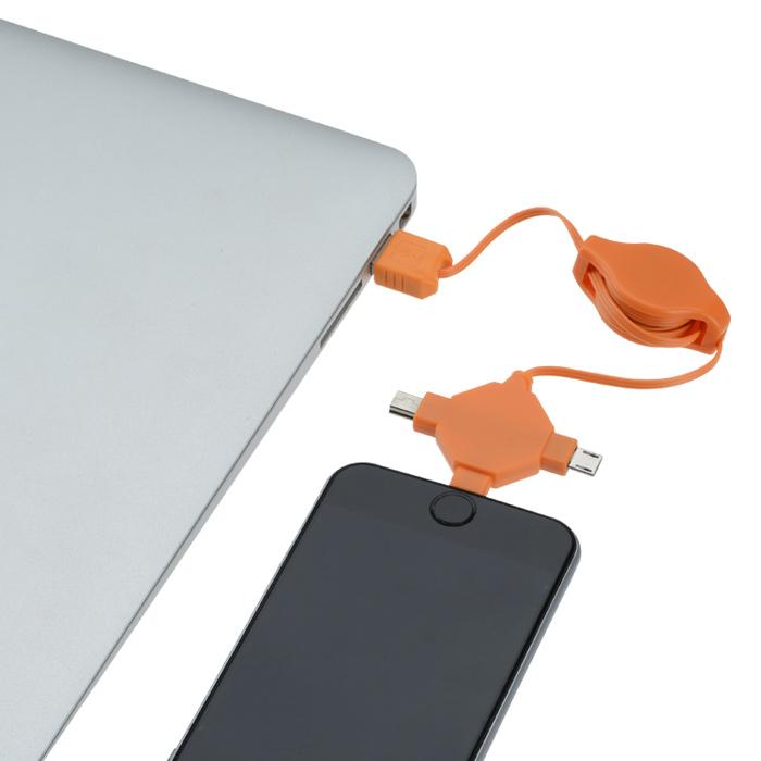 4imprint.com: Retractable Charging Cable - 24 hr 139406-24HR