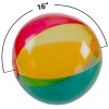 View Extra Image 2 of 2 of 16 inches Multicolor Translucent Beach Ball