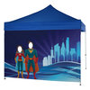 View Extra Image 1 of 1 of 10' Event Tent Interactive Face Cut Out Wall