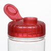View Extra Image 1 of 2 of Refresh Camber Water Bottle with Flip Lid - 20 oz. - Clear