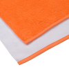 View Extra Image 2 of 3 of SubliPlush Velour Beach Towel - 30 inches x 60 inches - Heavyweight - Colors