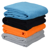 View Extra Image 2 of 3 of SubliPlush Velour Beach Towel - 35 inches x 65 inches - Colors
