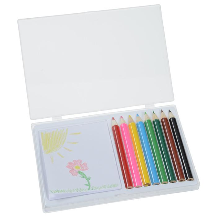 4imprint.com: 8 Piece Colored Pencil Art Set 141325 ...