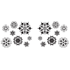 View Extra Image 3 of 3 of Viking Vacuum Tumbler - 20 oz. - Snowflakes