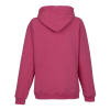 View Extra Image 1 of 1 of J. America Sueded V-Neck Hoodie - Ladies' - Embroidered