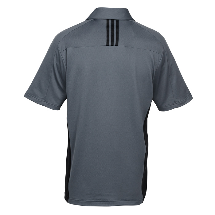 89b4b259 adidas Golf puremotion Colorblock 3 Stripes Polo - Men's Image 1 of 2