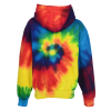 View Extra Image 2 of 2 of Tie-Dye Hoodie - Youth - Embroidered