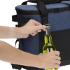 View Image 6 of 8 of Koozie Heathered 20-Can Tub Kooler Tote - Embroidered