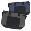 View Image 8 of 8 of Koozie Heathered 20-Can Tub Kooler Tote - Embroidered