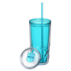 View Extra Image 2 of 3 of Refresh Simplex Tumbler with Straw - 16 oz. - Full Color