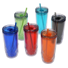 View Extra Image 3 of 3 of Refresh Simplex Tumbler with Straw - 16 oz. - Full Color