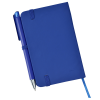 """View Extra Image 2 of 3 of Afton Custom Notebook with Pen - 5-1/2"""" x 3-1/2"""""""