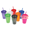 Customized Acrylic Tumbler with Straw - 16 oz. Image 2 of 2