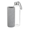 View Image 2 of 4 of Aqua Pure Glass Bottle - 18 oz.