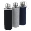 View Image 4 of 4 of Aqua Pure Glass Bottle - 18 oz.