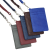 View Extra Image 4 of 4 of Genuine Leather ID Holder with Lanyard