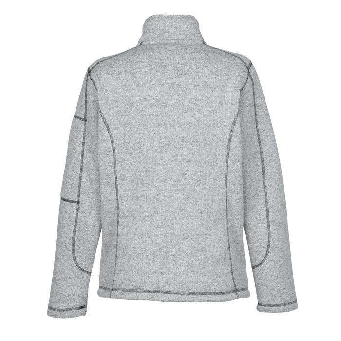 d8a16e5b0 4imprint.com  Sweater Knit Fleece Jacket - Ladies  - 24 hr 144323-L-24HR