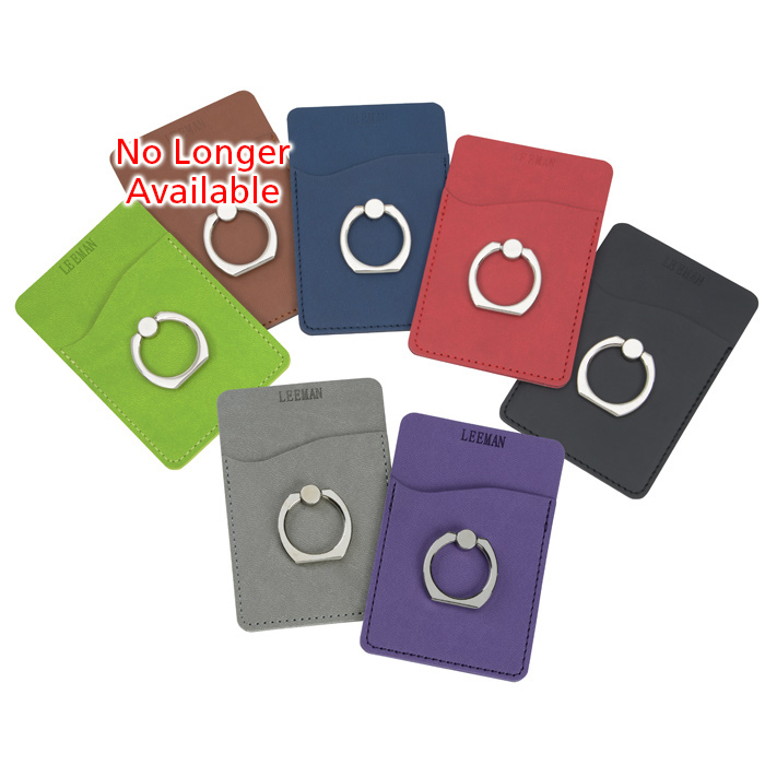 8122c4fd83238 4imprint.com: Tuscany Smartphone Wallet with Ring Phone Stand 144438