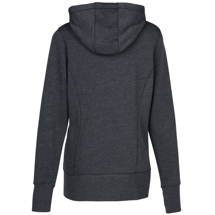 4imprint.com  New Era Tri-Blend Full-Zip Hoodie - Ladies  - Screen  144579-L-S 1d4a76520