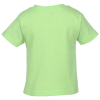 View Extra Image 1 of 2 of Rabbit Skins Jersey T-Shirt - Toddler - Colors