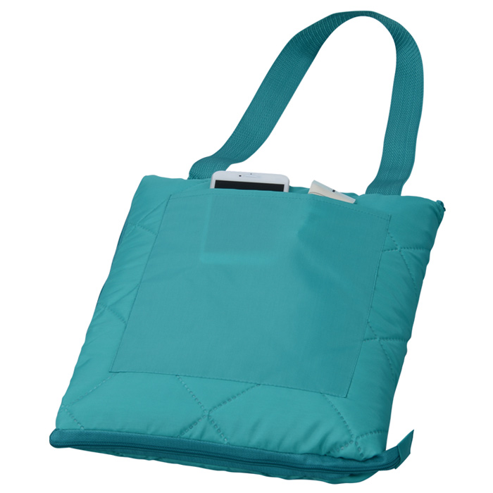 Zip Up Picnic Blanket.Zip Up Picnic Blanket With Carrying Strap