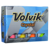 View Extra Image 1 of 4 of Volvik Crystal Golf Ball - Dozen - Factory Direct