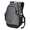 View Extra Image 1 of 5 of Under Armour Hustle II Backpack - Embroidered