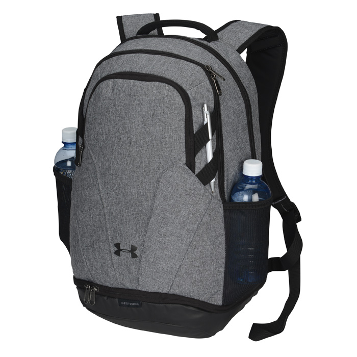 4imprint.com  Under Armour Hustle II Backpack - Embroidered 145423-E b805a29237