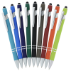View Extra Image 1 of 3 of Incline Soft Touch Stylus Metal Pen - Laser Engraved