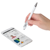 View Image 4 of 4 of Incline Soft Touch Stylus Metal Pen - Screen