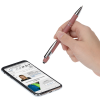 View Extra Image 1 of 5 of Incline Morandi Soft Touch Stylus Metal Pen - 24 hr