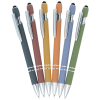 View Extra Image 2 of 5 of Incline Morandi Soft Touch Stylus Metal Pen - 24 hr