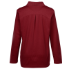 View Extra Image 1 of 2 of CrownLux Performance Plaited LS Polo - Ladies'